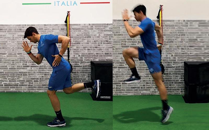 Potenza Monolaterale: One Leg Broad Jump